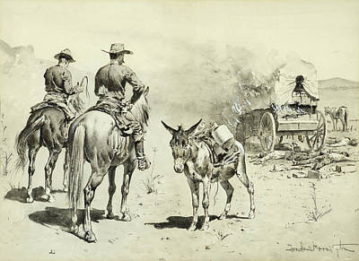 The Mexican Freight Wagon  Poster