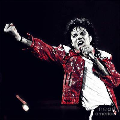 The Michael Jackson's Roar  Poster by Chris X