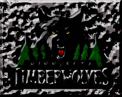 The Minnesota Timberwolves Poster
