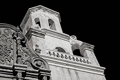 The Bell Tower - San Xavier Mission Poster