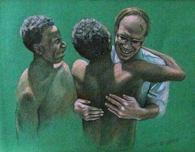 The Missionary Poster by Janet McGrath