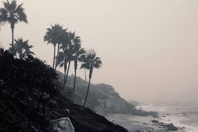 The Mists Of Laguna Beach Poster