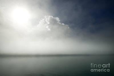 The Misty Silence Poster by Angel  Tarantella