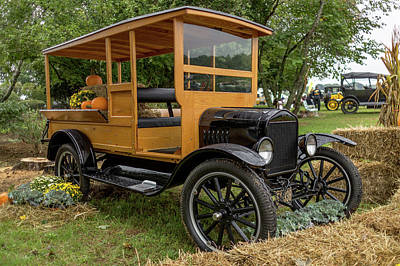 The Model T Pickup Poster by Capt Gerry Hare