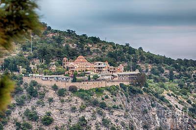 The Monastery Of Archangel Michael, Thasos, Greece Poster