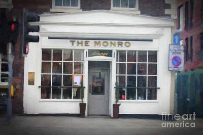 The Monro Lounge Liverpool Poster