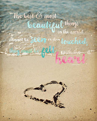 The Most Beautiful Things Poster by Lisa Russo