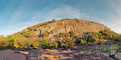 The Mothership Has Landed - Enchanted Rock State Natural Area - Texas Hill Country Poster by Silvio Ligutti