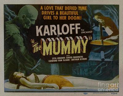 The Mummy 1929 Poster Boris Karloff Poster