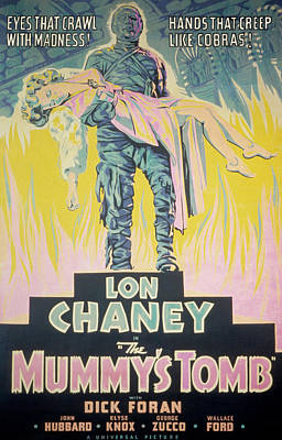The Mummys Tomb, Lon Chaney, Jr., Elyse Poster