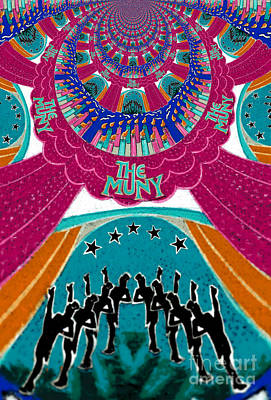 The Muny Birthday Celebration 5 Poster by Genevieve Esson