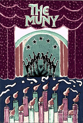 The Muny Birthday Celebration3 Poster by Genevieve Esson