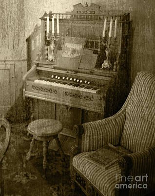Poster featuring the photograph The Music Parlor by Pete Hellmann