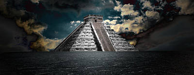 The Mystery Of Chichen Itza Poster