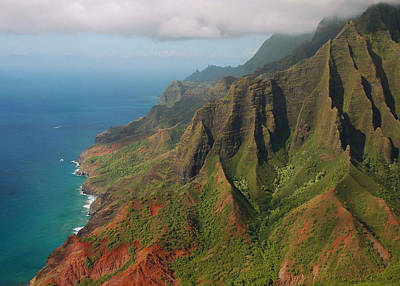 The Napali Coast Poster