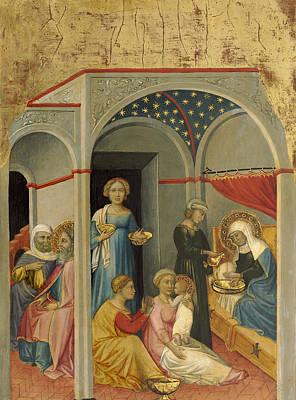 The Nativity Of The Virgin Poster by Andrea Di Bartolo