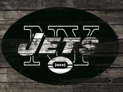 The New York Jets 3h Poster by Brian Reaves
