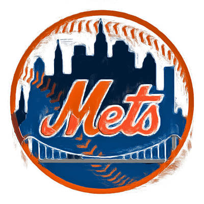 The New York Mets Poster by Brian Reaves