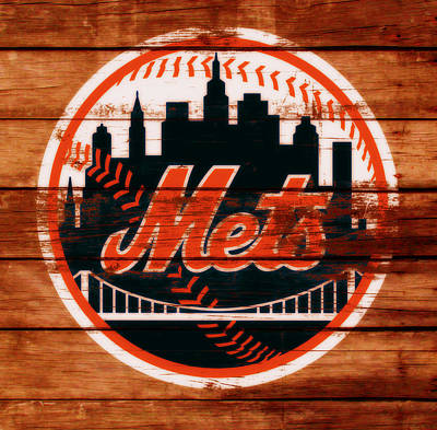 The New York Mets C1 Poster by Brian Reaves