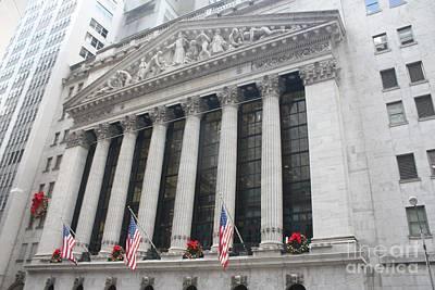 The New York Stock Exchange Poster by John Telfer