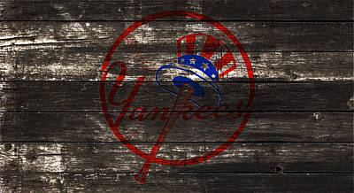 The New York Yankees 1w Poster by Brian Reaves