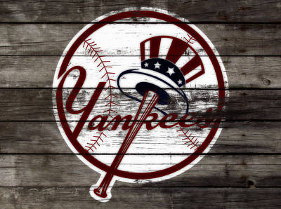 The New York Yankees 3b     Poster by Brian Reaves