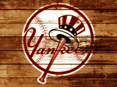 The New York Yankees 3e     Poster by Brian Reaves