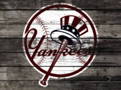 The New York Yankees 3i     Poster by Brian Reaves
