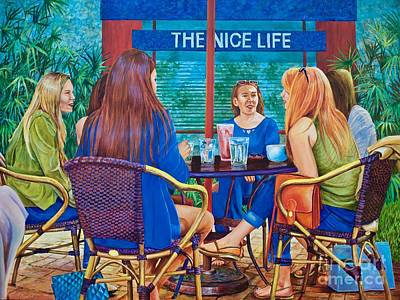 The Nice Life Poster by AnnaJo Vahle