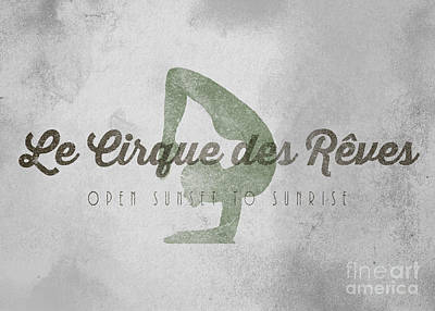 The Night Circus Le Cirque Des Reves Poster