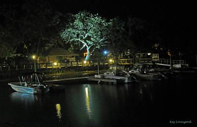 The Oak At The Marina Poster