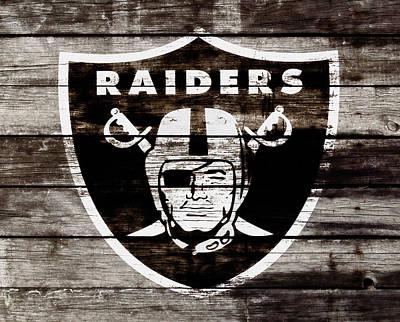 The Oakland Raiders 3e Poster