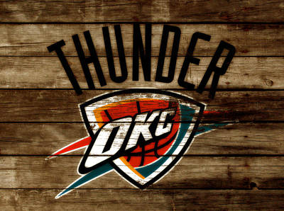 The Oklahoma City Thunder W9           Poster by Brian Reaves