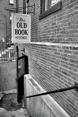 Poster featuring the photograph The Old Book Store by Karol Livote