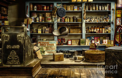 The Old Country Store Poster by Priscilla Burgers