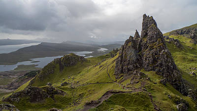The Old Man Of Storr, Isle Of Skye, Uk Poster
