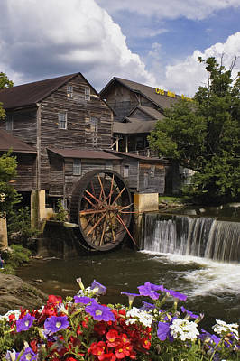 The Old Mill - D000662 Poster by Daniel Dempster