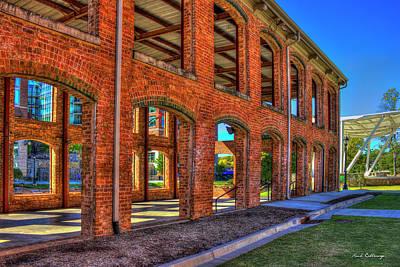 The Old Mill Wedding Venue Greenville South Carolina Art Poster