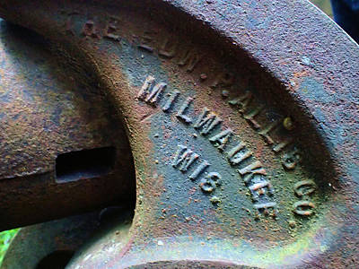 The Old Stamp Mill- Findley Mine Poster