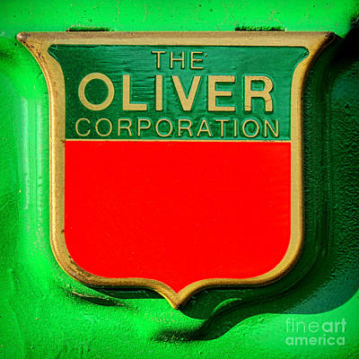 The Oliver Corporation Poster by Olivier Le Queinec