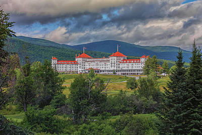 The Omni Mount Washington Resort Poster by Brian MacLean