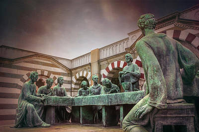 The Other Last Supper In Milan Italy Poster by Carol Japp