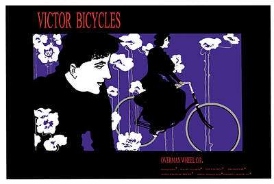 The Overman Bicycle Co Poster