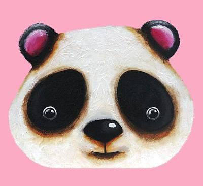 The Panda Bear Poster by Lucia Stewart