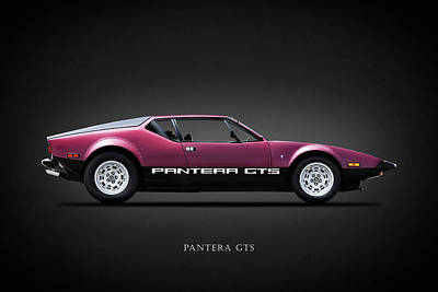 The Pantera Gts Poster by Mark Rogan