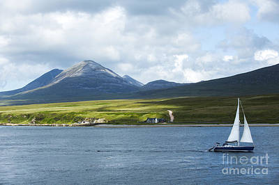 The Paps Of Jura Poster by Diane Diederich