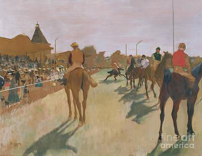 The Parade Poster by Edgar Degas