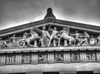 The Parthenon In Nashville Poster