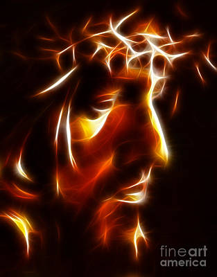 The Passion Of Christ Poster by Pamela Johnson