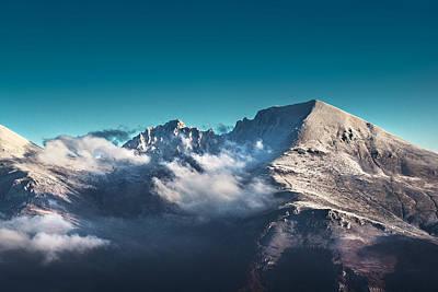 The Peak Poster by Ivan Vukelic